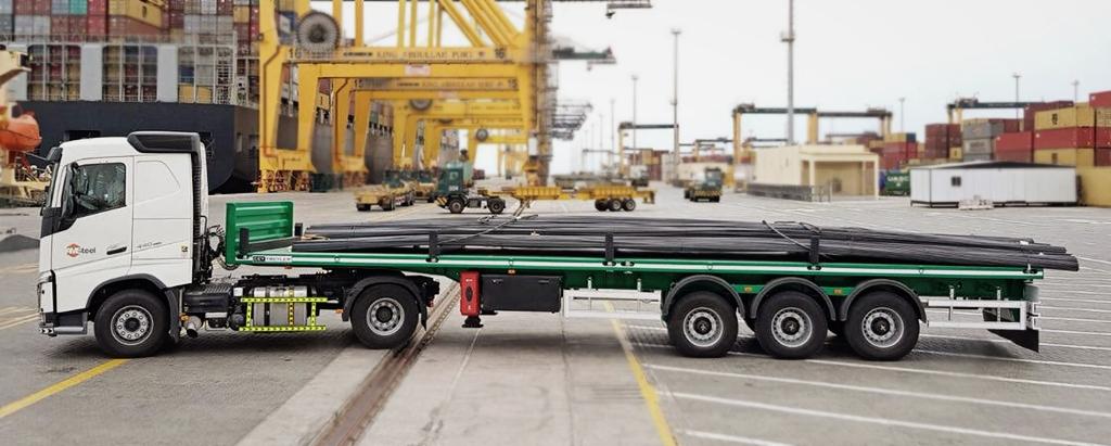 Platform Konteyner Taşıyıcı